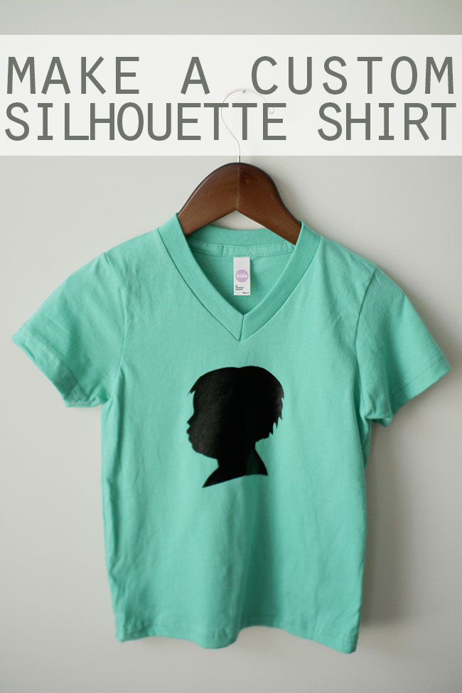 Make-a-Custom-Silhouette-TShirt