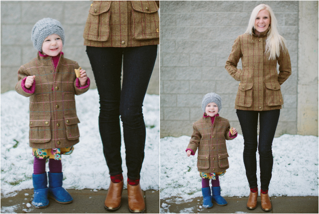 harlow and mom coat