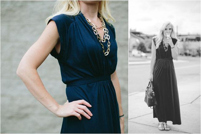 max dress length