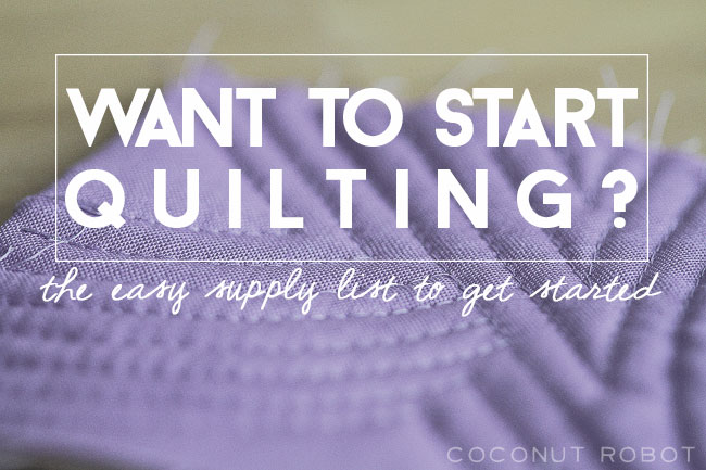 Easy-Quilting-Supply-List