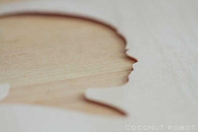 wood veneer Silhouette Hook-5