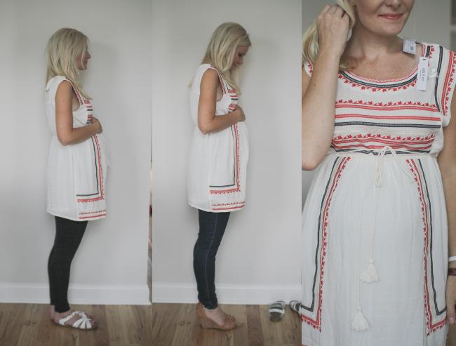 short white with leggings