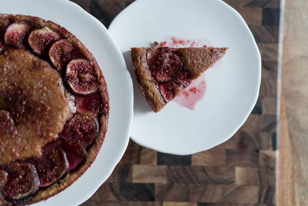 Paleo Fig Cake