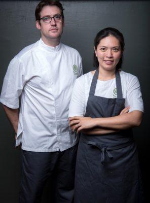 A file photo of chefs Duanporn 'Bo' Songvisava and Dylan Jones of Bo.lan. Photo: Bo.lan / Courtesy