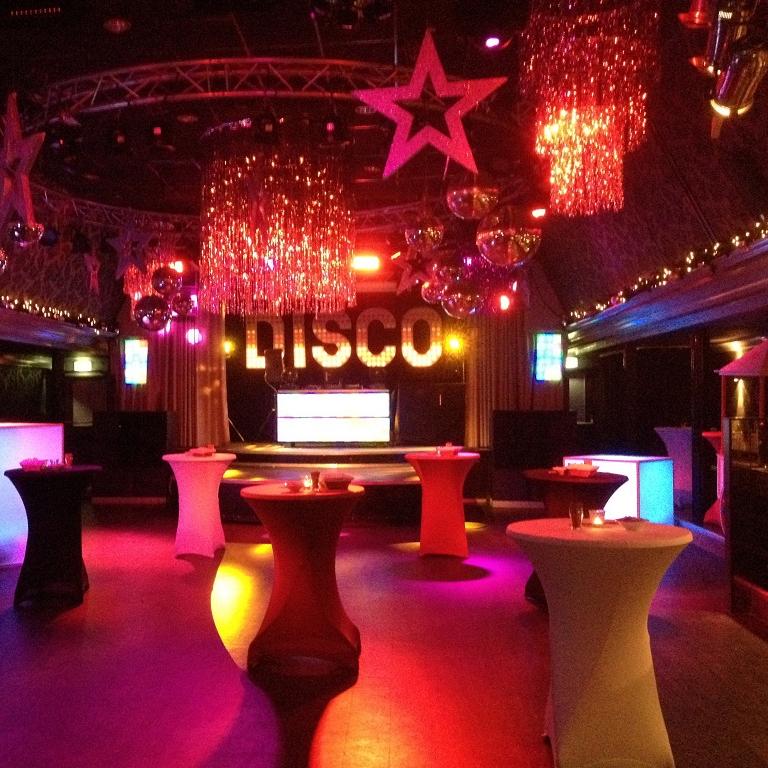 Disco decoratie aankleding Friesland Leeuwarden