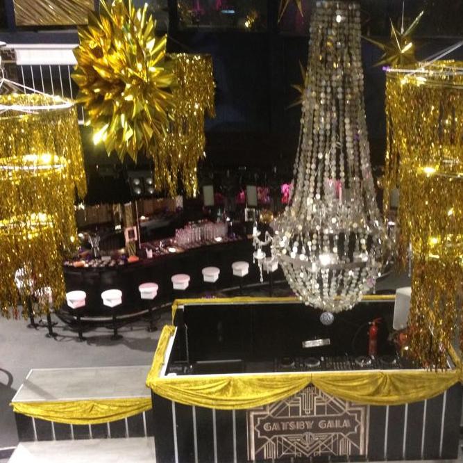 Gala decoratie aankleding Friesland Leeuwarden