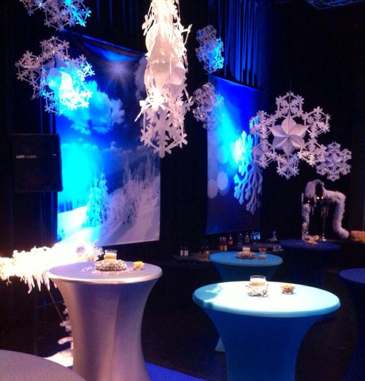 Winter decoratie aankleding Friesland Leeuwarden