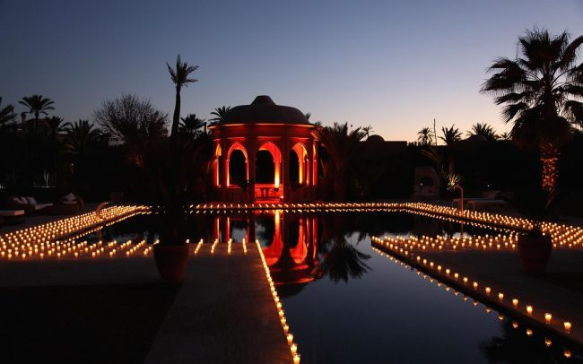 Aziz & Sonia - Decorated garden by Cocoon Events LTD