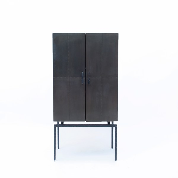 Sideboard hand-riveted