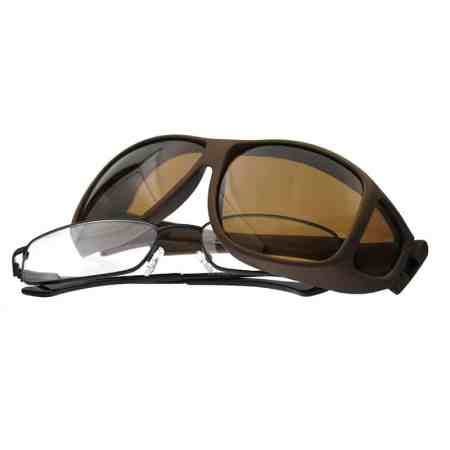 sand fitover sunglasses in aviator style