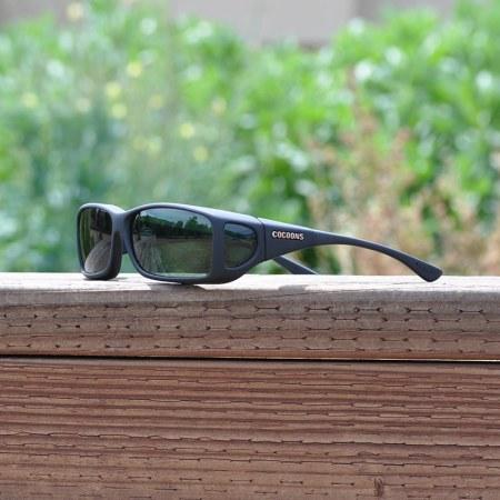 Specialty polarized fitover sunglasses