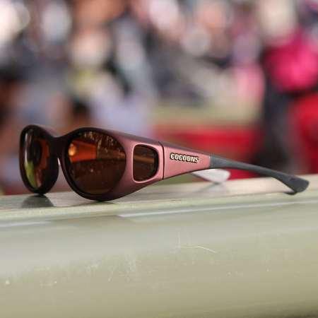 Fashionable fitover sunglasses