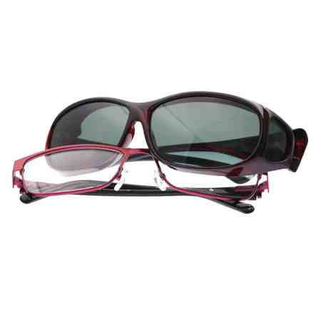 small black cherry cocoons fitover sunglasses