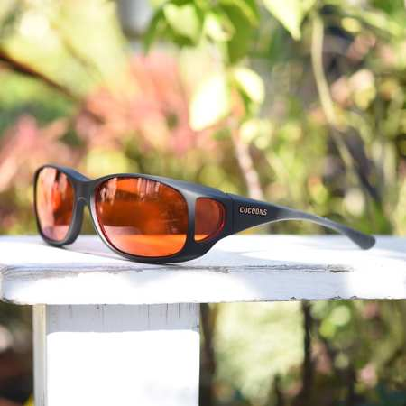 Style Line fitover sunglasses with orange