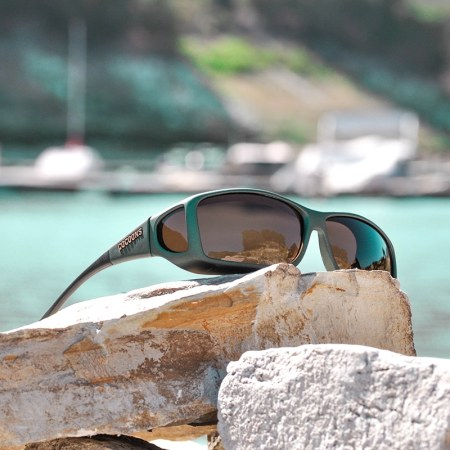 Wide Line Cocoons fitover sunglasses in Ivy