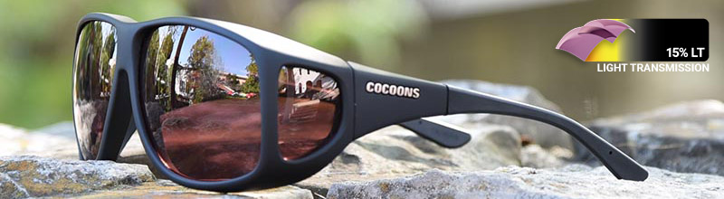 cocoons fitover sunglasses come in boysenberry