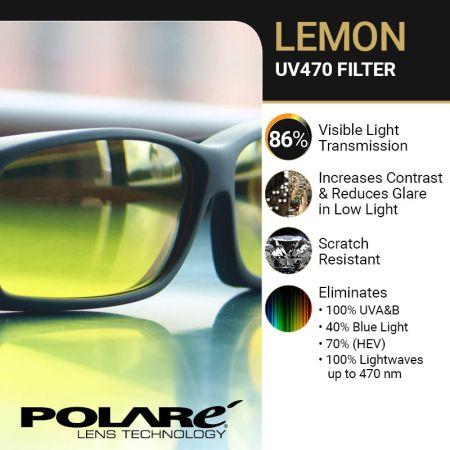 High Contrast Lemon Filters