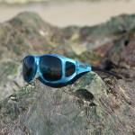 Beautiful fitover sunglasses come in aqua