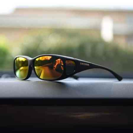 Dashboard cocoons fitover sunglasses