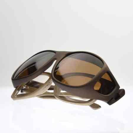 fitover sunglasses stacked over wooden frames