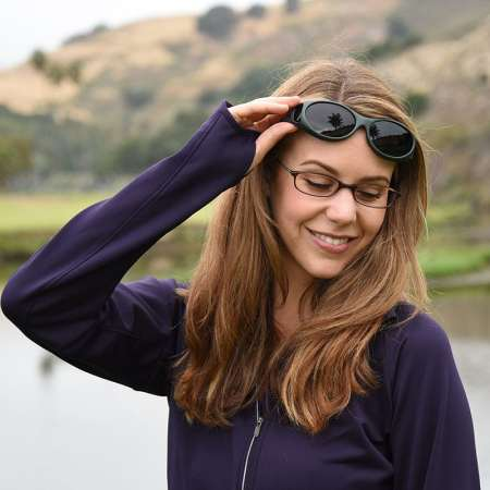 Ivy frames Cocoons Fitover Sunglasses