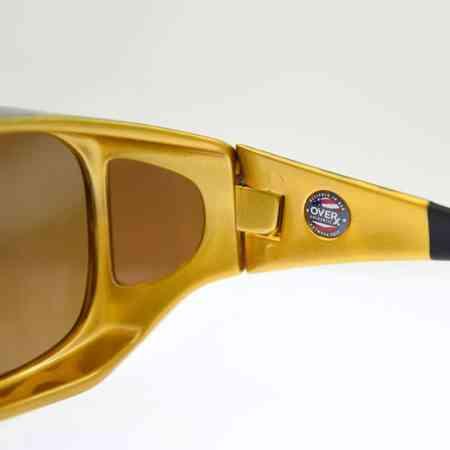 Tortoiseshell fitover sunglasses