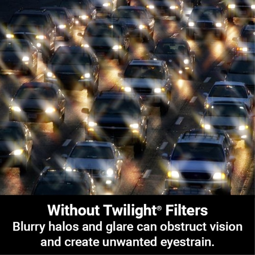 Glare and Halos blur your vision