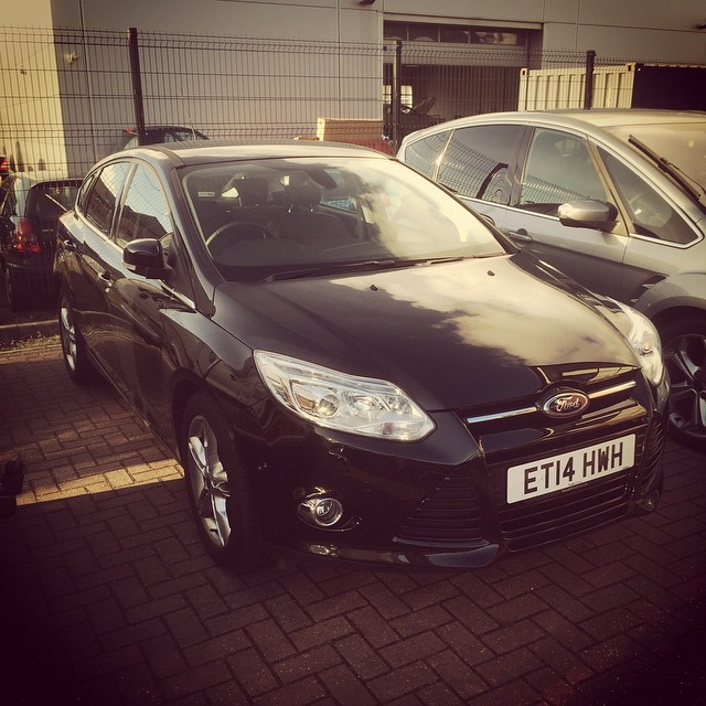 Photo of the Ford Focus Ecoboost that has been out to a customer for 6 months! Fantastic drive from a 1.0 engine!