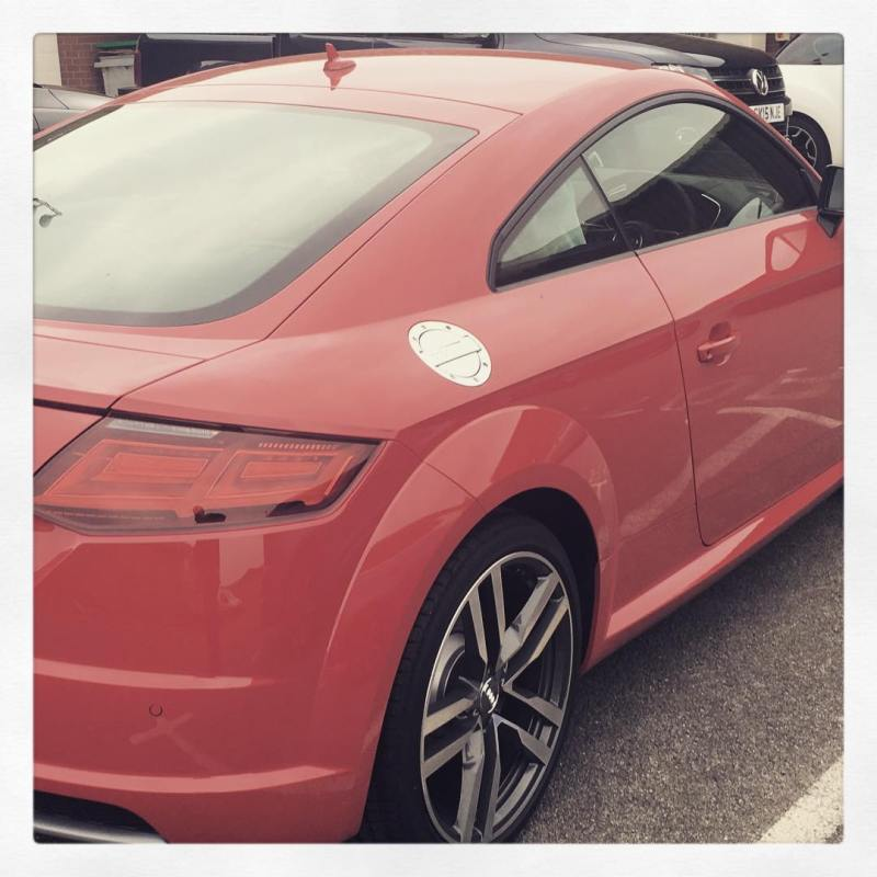 The cancelled Audi TT has arrived! Available on 7 month contract hire! Call us on 01332 290173 for details!