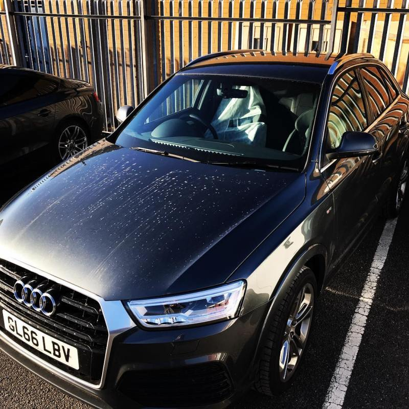 "Audi Q3 off out to a customer on a 7 month contract! Short and Long Term Car Leasing : 0330 330 9425 : or GOOGLE ""Cocoon Vehicles"""