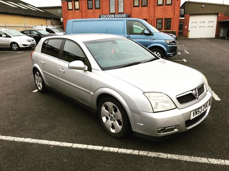 "We even take in part exchanges against short term and long term car leases! Like this Vauxhall Signum that was sold to by one of our salesman 13 years ago!  Short and Long Term Car Leasing : 0330 330 9425 : or GOOGLE ""Cocoon Vehicles"""
