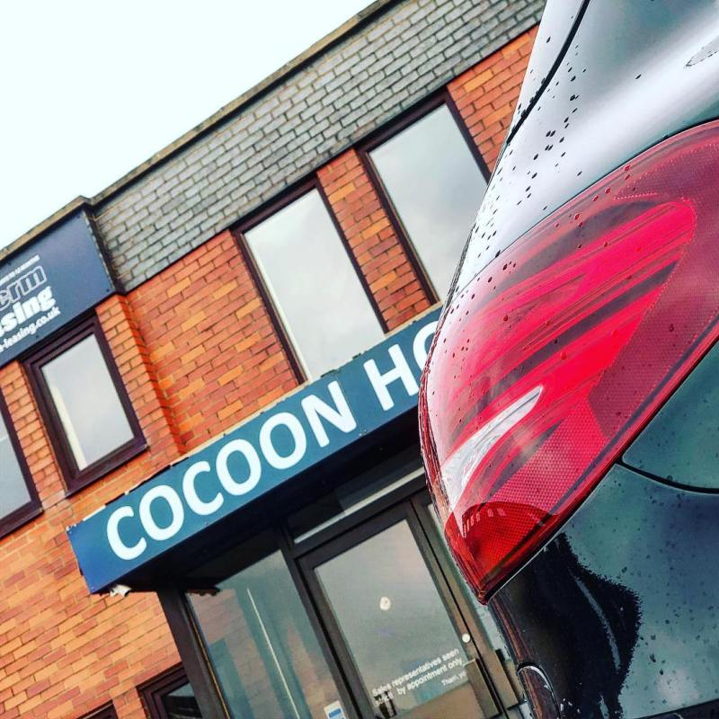 Another Mercedes Hybrid leaving Cocoon HQ
