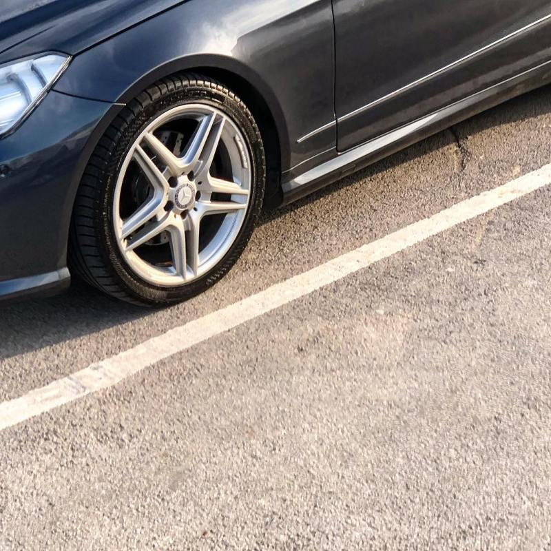 These wheels are by far the best that @mercedesbenzuk do on their cars!