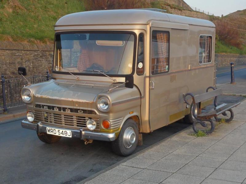 What a fantastic looking campervan for it's age!
