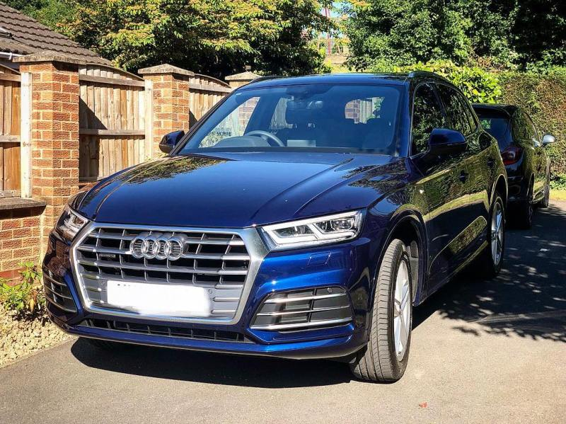 This beautiful @audiuk Q5 is off down to @heathrow_airport very early in the morning, to Meet and Greet one of our annual overseas visitors off his Perth to London @qantas flight!