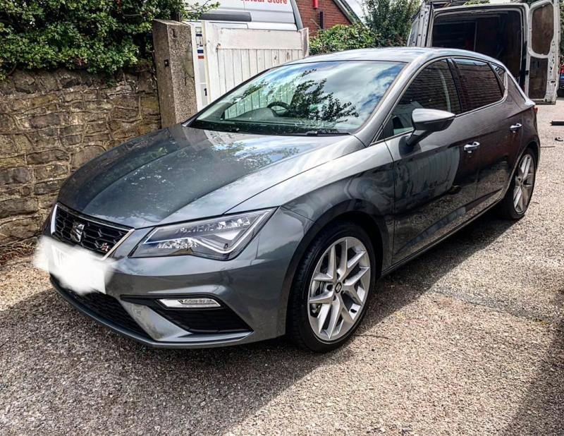 Seat Leon 1.4 TSI FR Technology delivered on a 12 month contract to Kirton near Newark! Existing customer!  Thanks for the business!