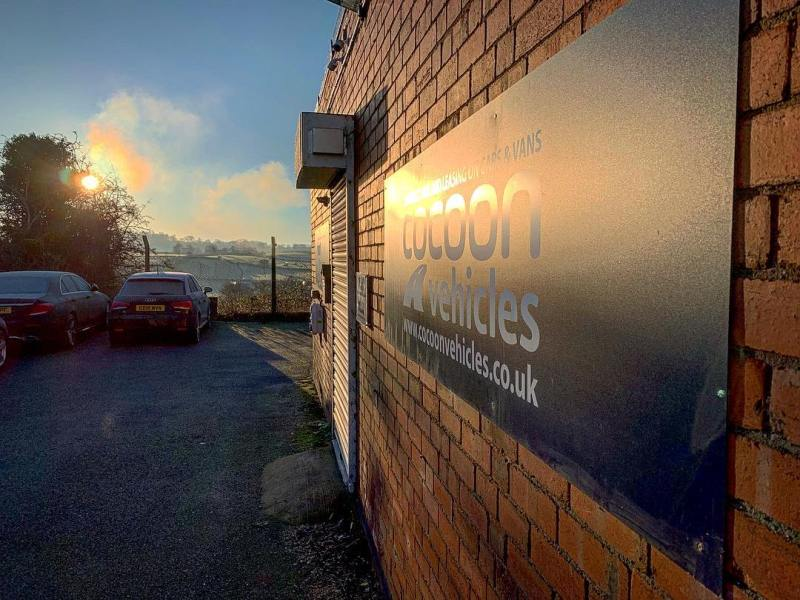 What a lovely frosty morning at Cocoon HQ - We've got lots of 4x4's going out on Short Term today including the Volvo XC60, BMW X1 and the BMW X3