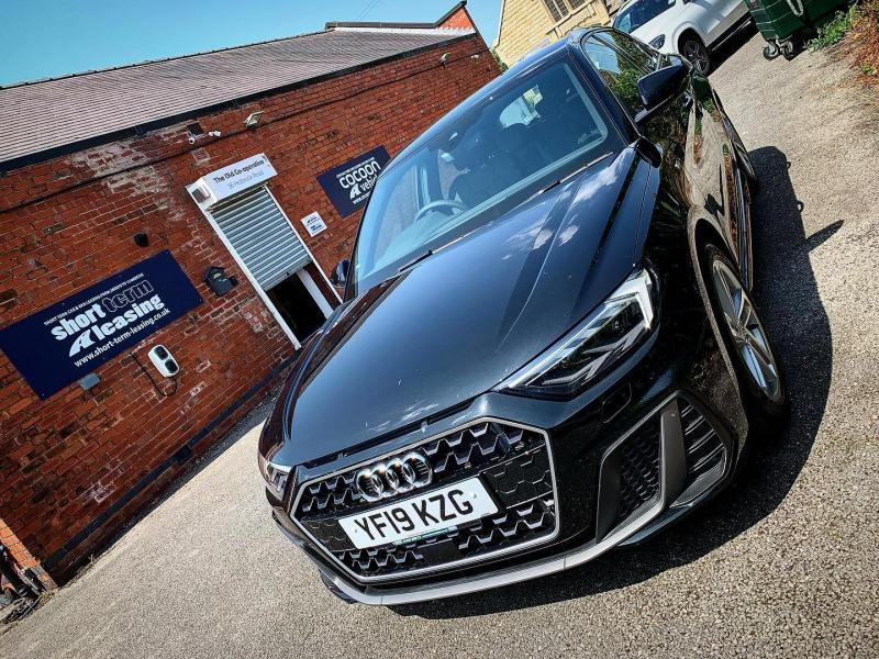 "Brand New Audi A1 30 TFSI S Line S Tronic!  Just been handed over to a new customer in #Somerset!  Find out more about or Flexi-tent fleet - Google ""Cocoon Vehicles"""