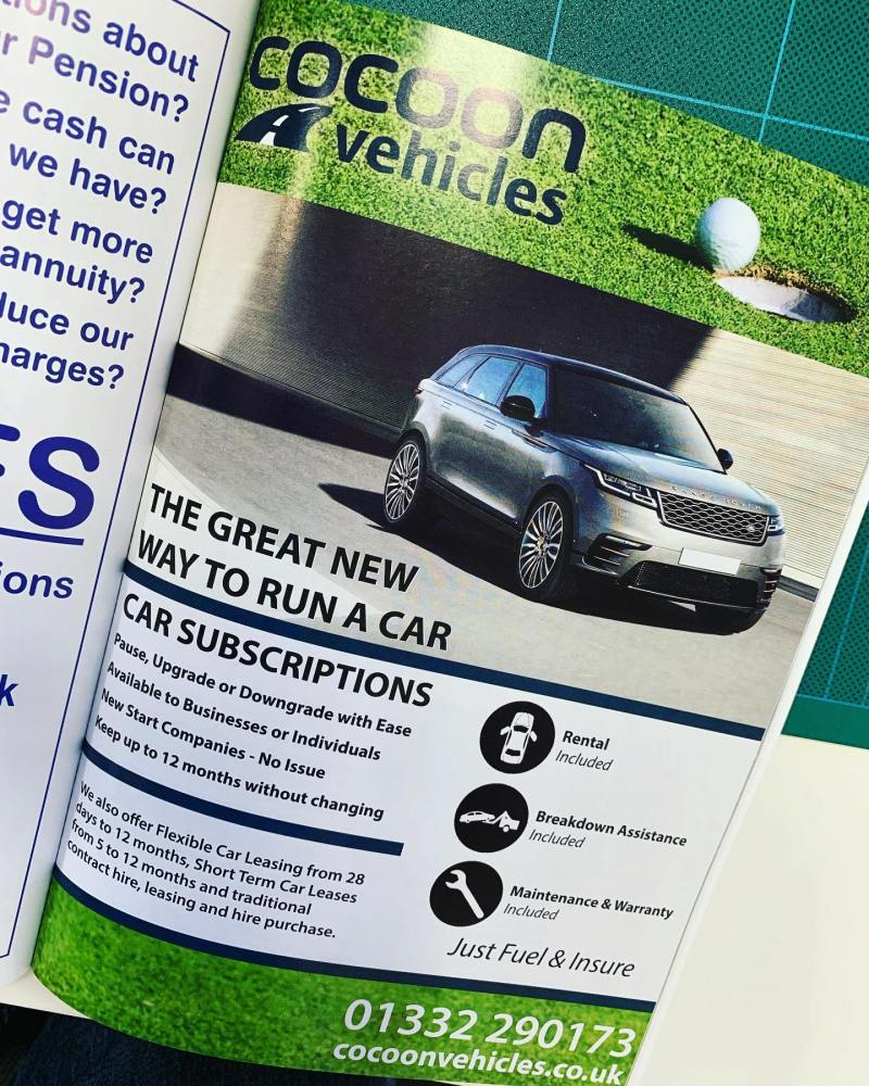 Great to see our advert in the Latest County Golf magazine from @countygolfermagazine -