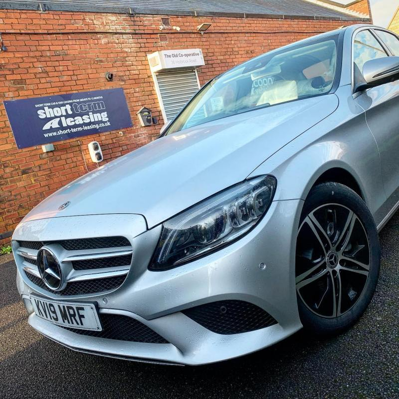 Pre-registered Mercedes C Class Saloon off out on a 12 month contract to Kent.