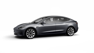Tesla Model 3 Saloon Standard Plus on 15 month car lease