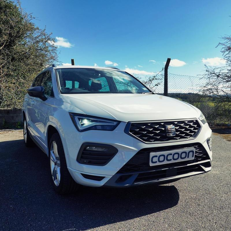 Seat Ateca ready to be delivered to Northampton tomorrow. New customer taking a 6 month car lease. - - - - - - - -
