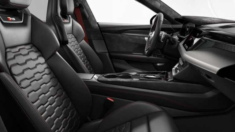 Audi RS E-Tron Interior Shot