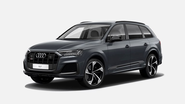 Audi SQ7 in Daytona Grey