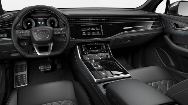 Audi SQ7 Interior Shot