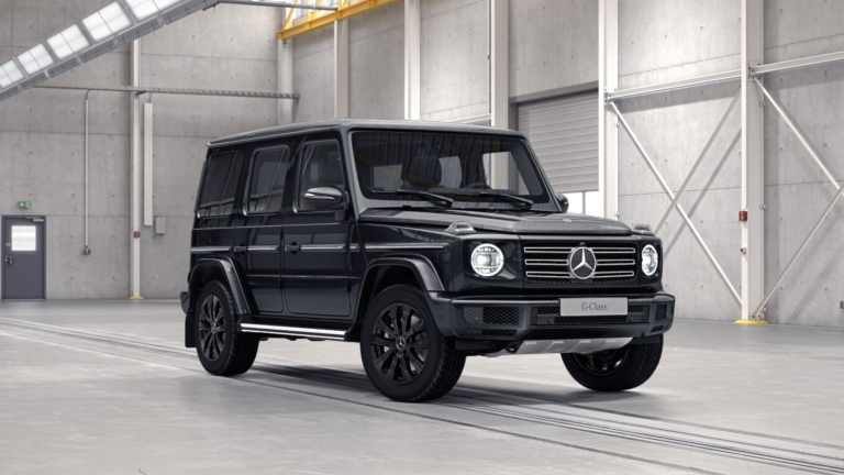 Mercedes-G-Wagon-Black-1