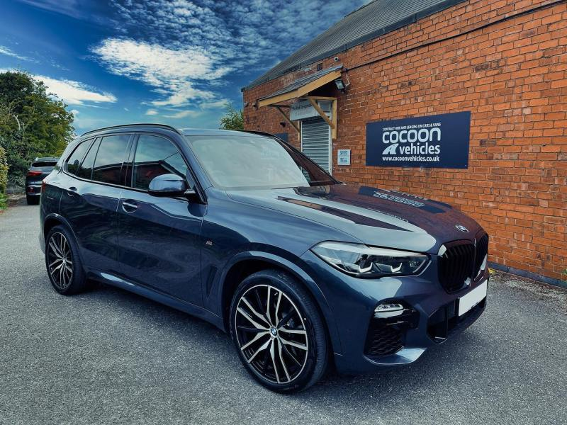 BMW X5 M Sport; Available in Diesel, Petrol and Hybrid on flexible contracts.  Don't Commit, Short-Term It!