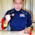 脳と身体機能の向上・・・左右の手の異なる動作2