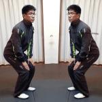 心のためのボディーワーク・・視覚と動作の連動1