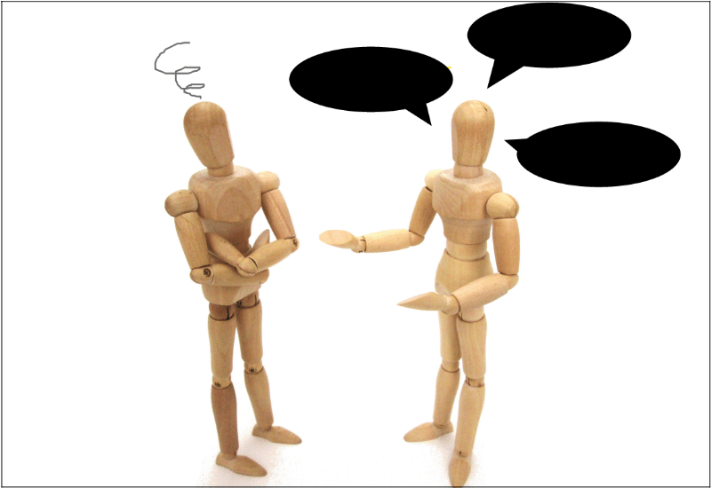 噛み合わない人間関係